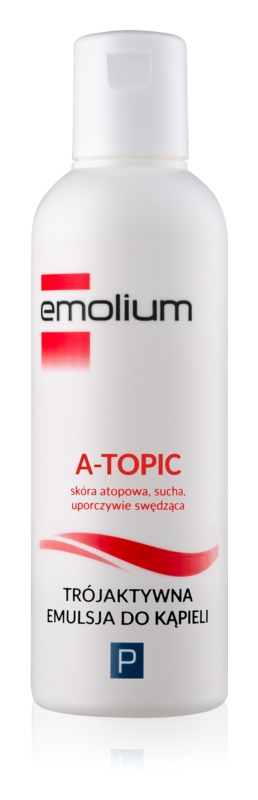 Emolium Body Care A- topic emulze do koupele s trojím účinkem