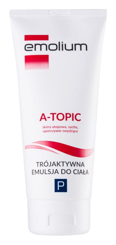 Emolium Body Care A- topic tělová emulze s trojím účinkem pro suchou až atopickou pokožku