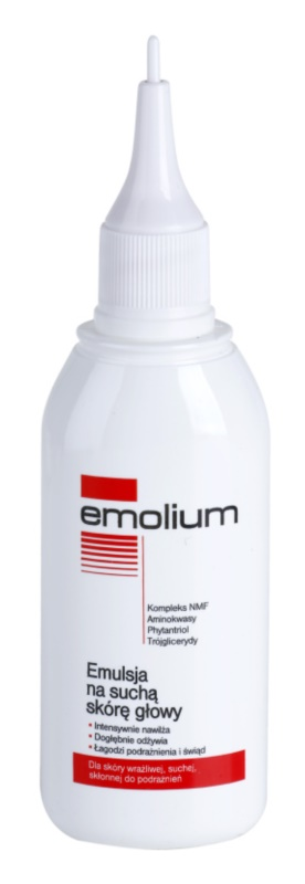 Emolium Hair Care emulze pro suchou a citlivou pokožku hlavy