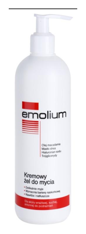 Emolium Wash & Bath kremasti gel za prhanje za suho in občutljivo kožo