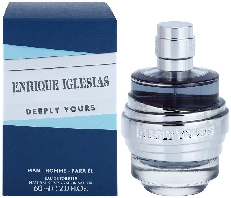 Enrique Iglesias Deeply Yours Eau de Toilette for Men 60 ml