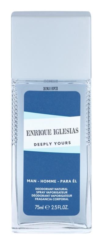 Enrique Iglesias Deeply Yours deodorant spray pentru barbati 75 ml