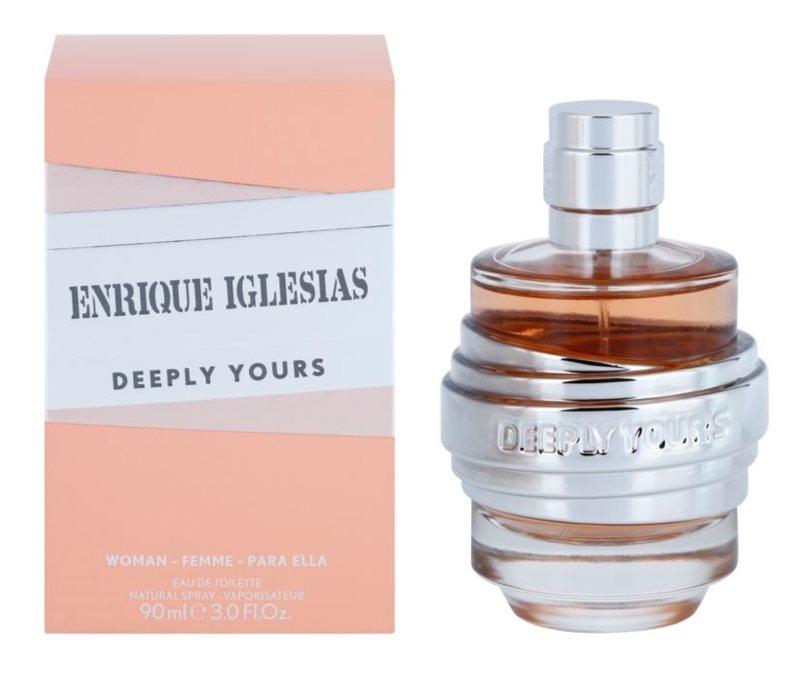 Enrique Iglesias Deeply Yours Eau de Toilette für Damen 90 ml