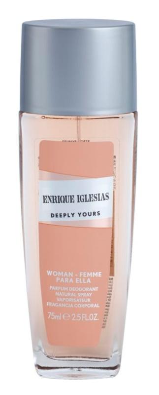 Enrique Iglesias Deeply Yours Deo mit Zerstäuber für Damen 75 ml
