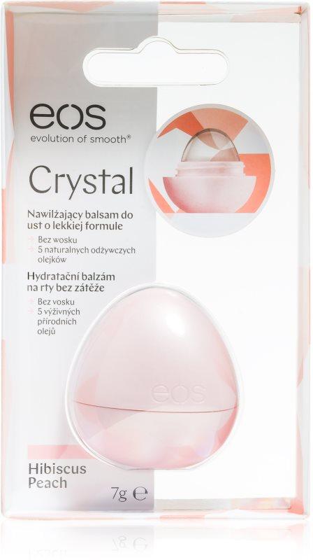 EOS Crystal Hibiscus Peach Moisturizing Lip Balm