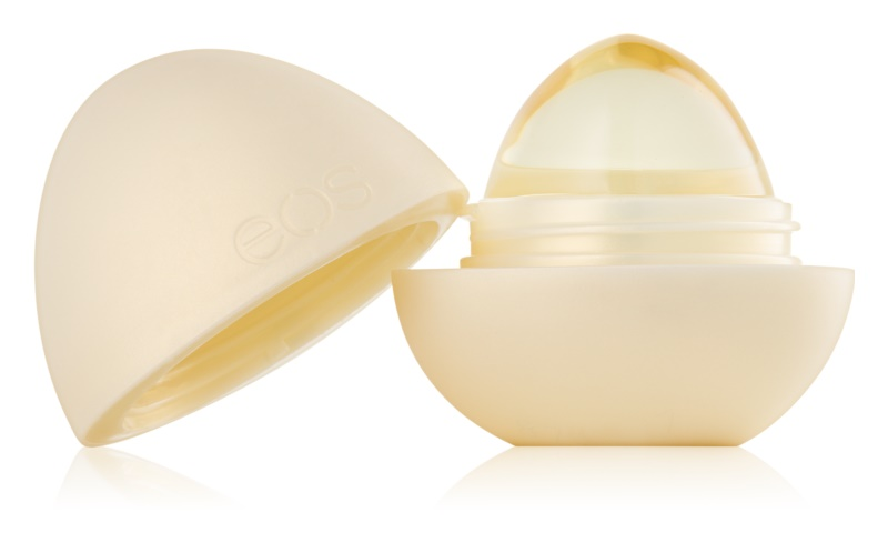 EOS Crystal Vanilla Orchid hydratační balzám na rty s vanilkou