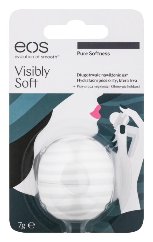 EOS Visibly Soft Pure Softness hydratační balzám na rty