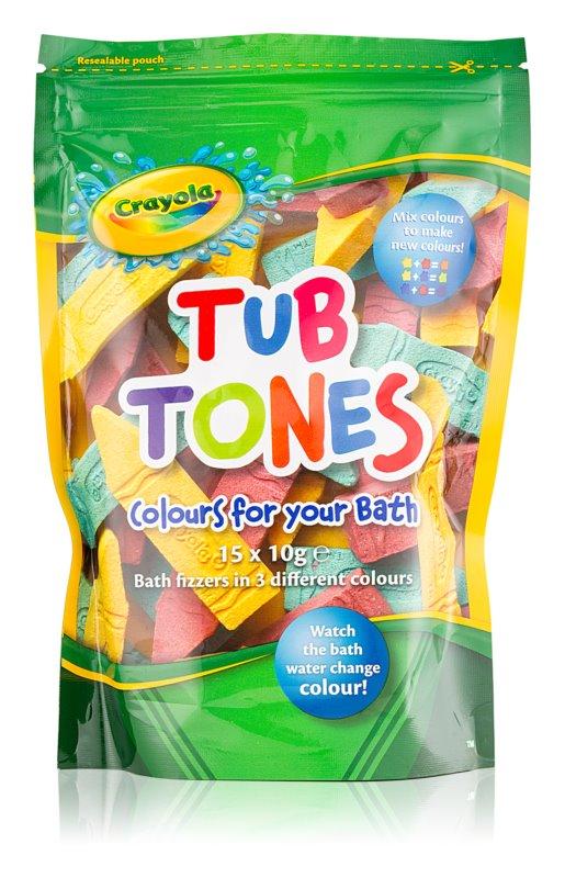EP Line Crayola Tub Tones кольорові шипучі таблетки для ванни