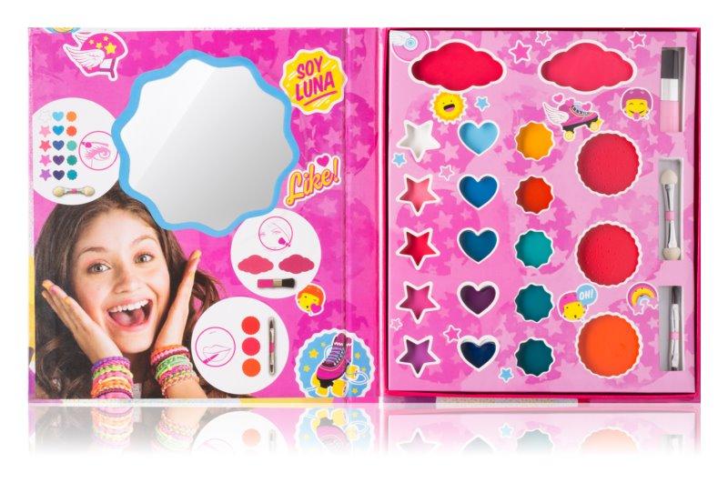 EP Line Soy Luna paleta dekorativní kosmetiky pro děti