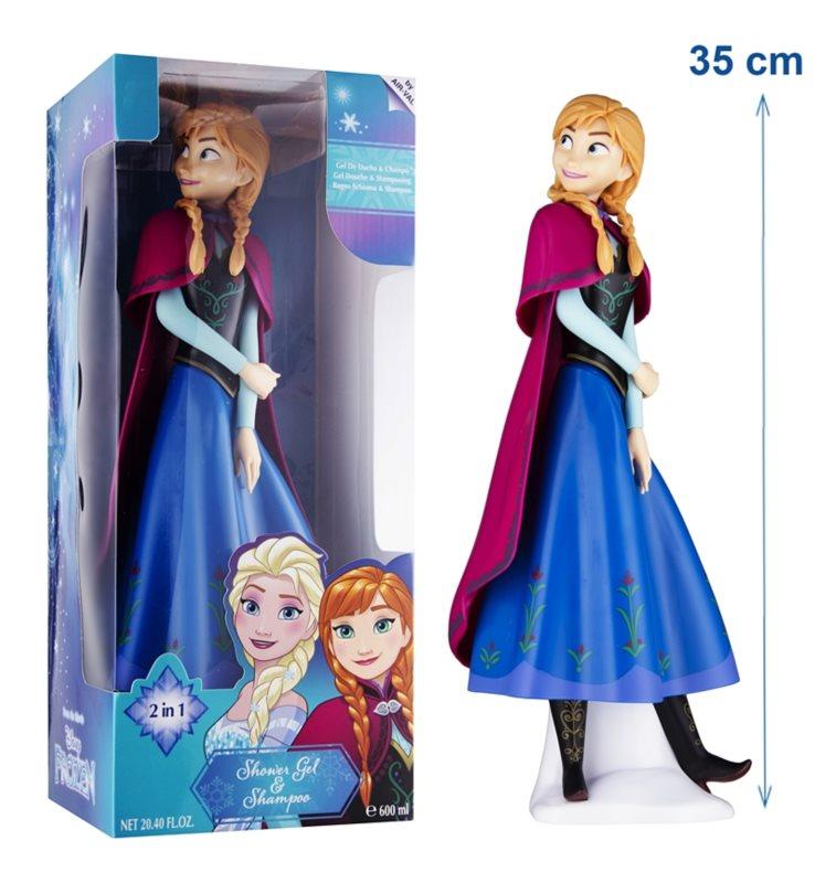 EP Line Frozen 3D Anna sprchový gél a šampón 2 v 1