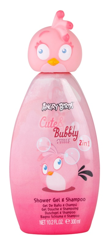 EP Line Angry Birds Cute Bubbly gel de dus si sampon 2in1