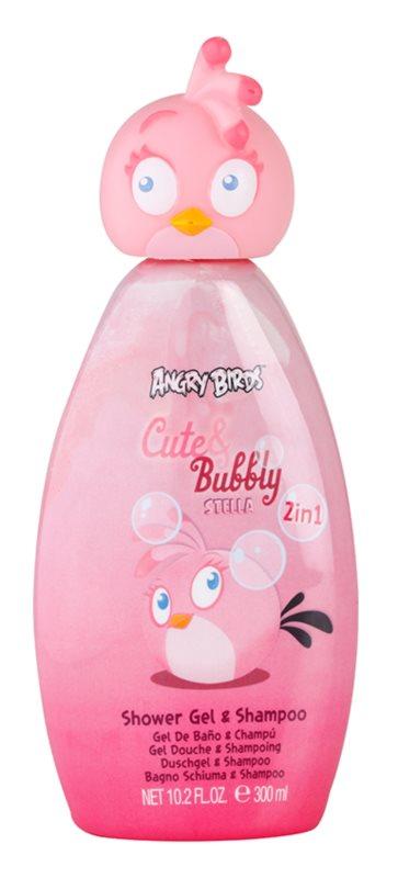 EP Line Angry Birds Cute Bubbly šampon a sprchový gel 2 v 1