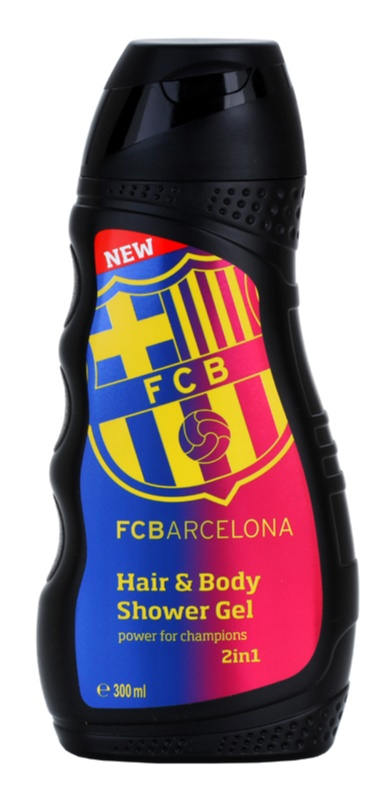 EP Line FC Barcelona 2 in 1 gel de dus si sampon