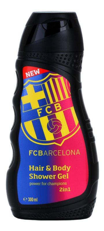 EP Line FC Barcelona gel de douche et shampoing 2 en 1