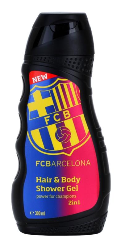 EP Line FC Barcelona tusfürdő gél és sampon 2 in 1