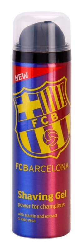 EP Line FC Barcelona shaving gel za moške 200 ml