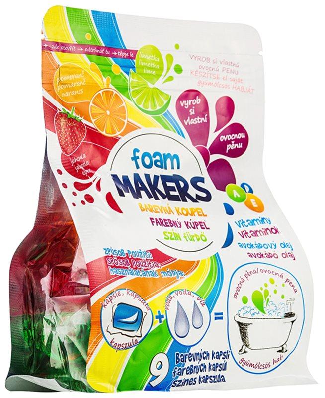 EP Line Foam Makers cápsulas de espuma para banho