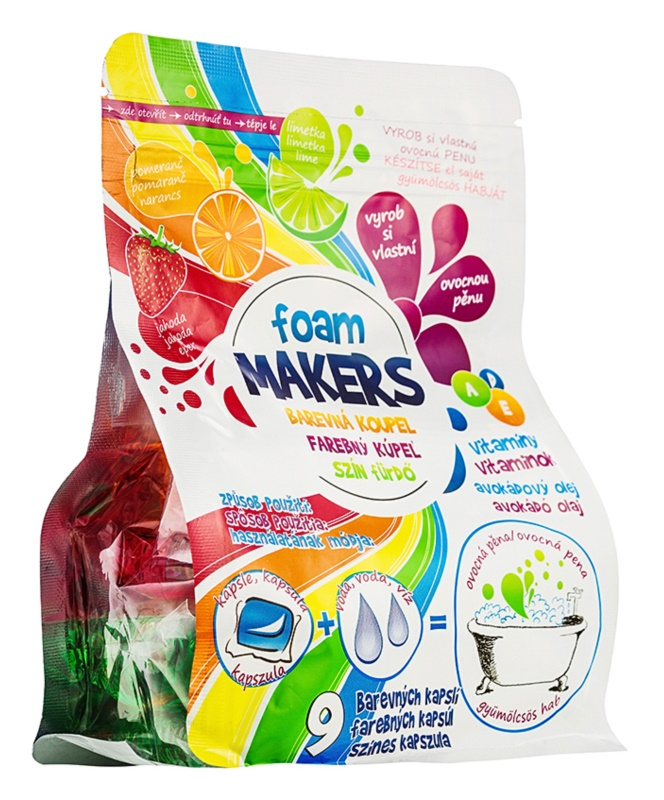 EP Line Foam Makers Espuma de baño en capsulas