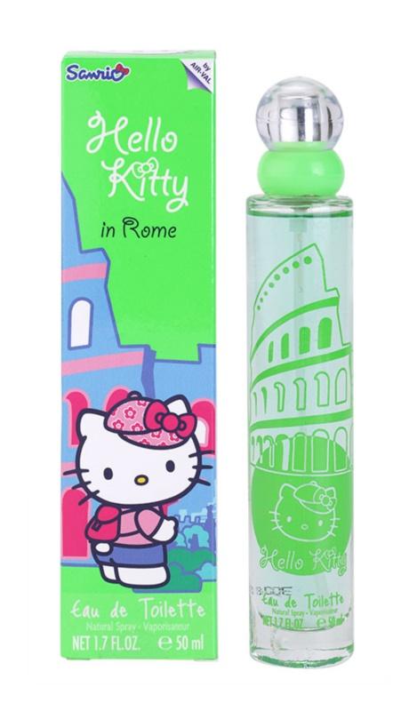 EP Line Hello Kitty In Rome eau de toilette gyermekeknek 50 ml