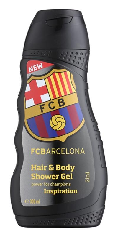 EP Line FC Barcelona Inspiration champô e gel de duche 2 em 1