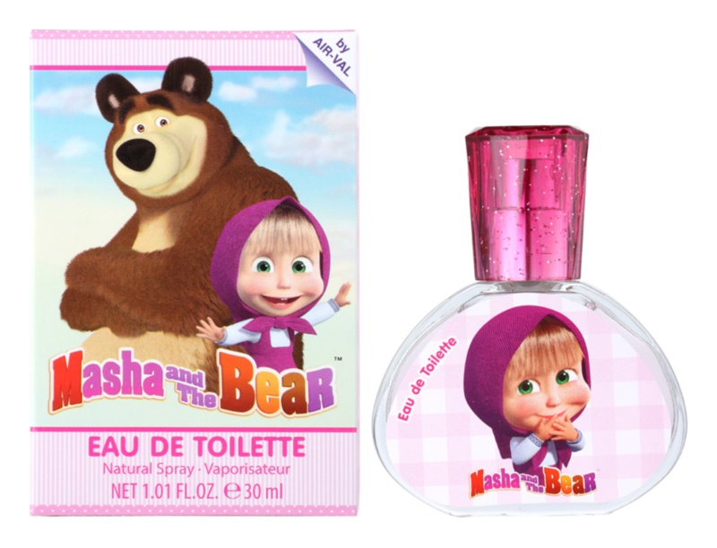 EP Line Masha and The Bear eau de toilette pentru copii 30 ml