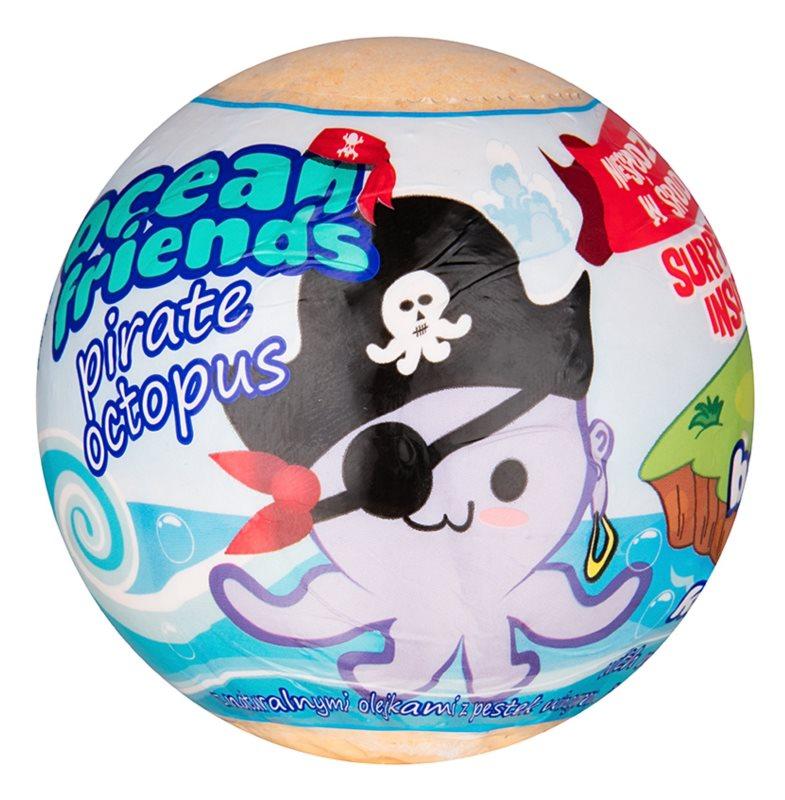 EP Line Ocean Friends šumeča kopalna krogla s figurico