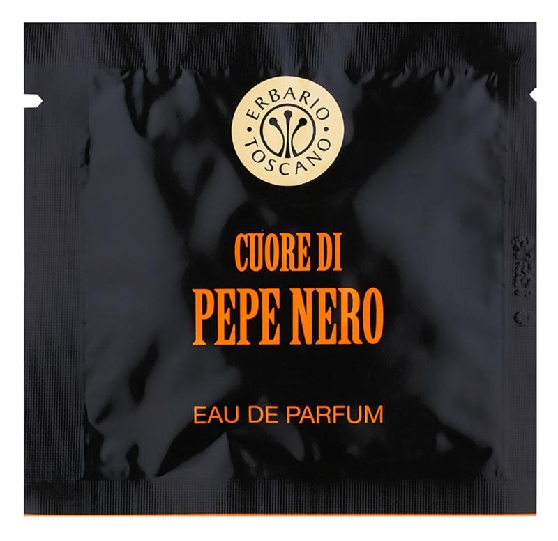Erbario Toscano Black Pepper Parfümierte Tücher  Herren 7 St.