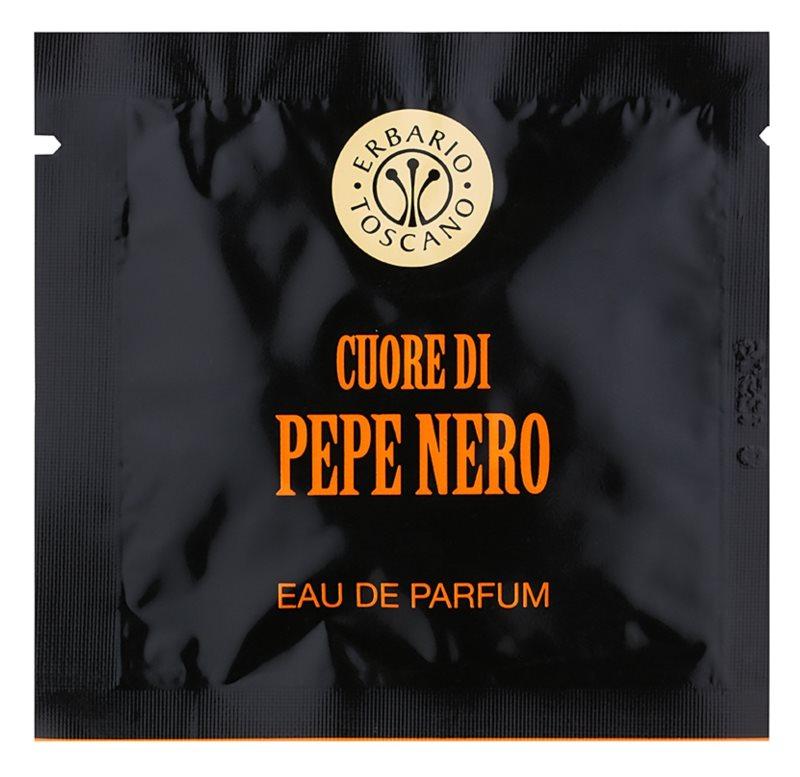 Erbario Toscano Black Pepper Șervețele parfumate pentru barbati 7 buc