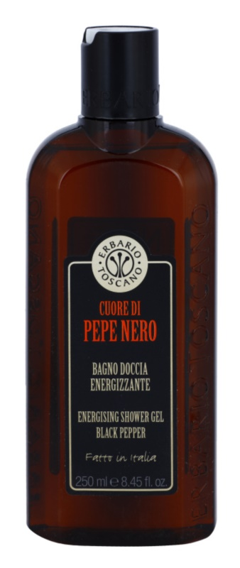 Erbario Toscano Black Pepper Energising Shower Gel