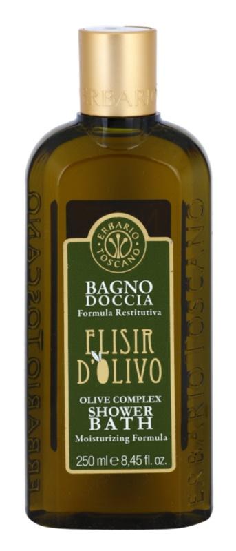 Erbario Toscano Elisir D'Olivo gel za prhanje in kopanje z vlažilnim učinkom
