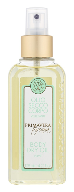 Erbario Toscano Primavera Toscana Dry Body Oil With Moisturizing Effect