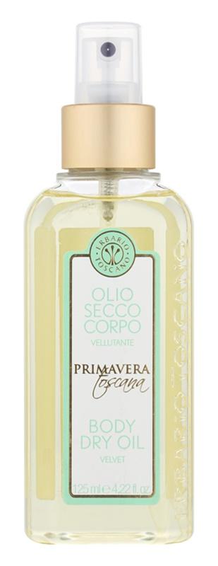 Erbario Toscano Primavera Toscana száraz testápoló olaj hidratáló hatással