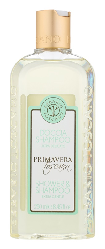 Erbario Toscano Primavera Toscana gel douche et shampoing extra-doux 2 en 1