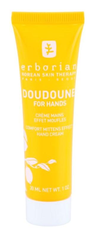 Erborian Yuza Doudoune ochranný krém na ruky pre jemnú a hladkú pokožku