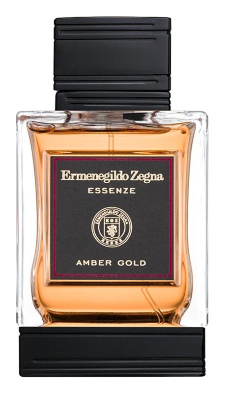 Ermenegildo Zegna Essenze Collection: Amber Gold Eau de Toilette for Men 125 ml