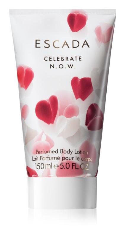Escada Celebrate N.O.W. тоалетно мляко за тяло за жени 150 мл.