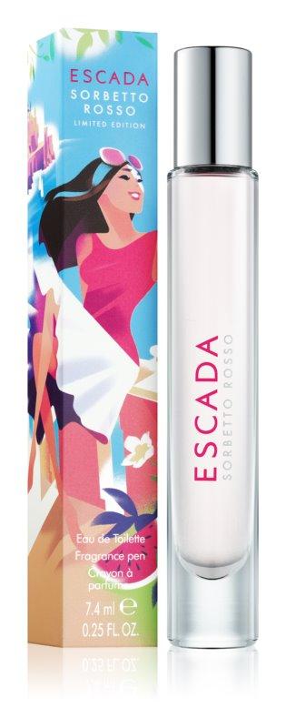 Escada Sorbetto Rosso toaletní voda pro ženy 7,4 ml roll-on
