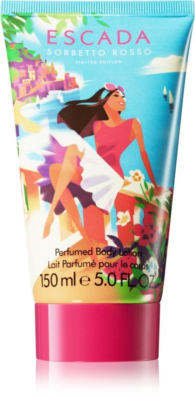 Escada Sorbetto Rosso lapte de corp pentru femei 150 ml