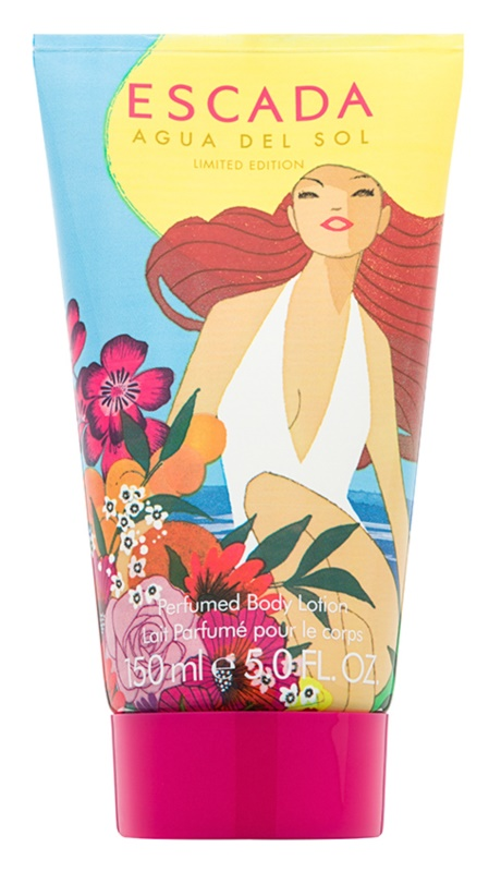 Escada Agua del Sol leite corporal para mulheres 150 ml