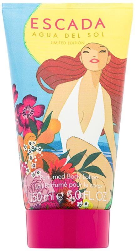 Escada Agua del Sol lotion corps pour femme 150 ml