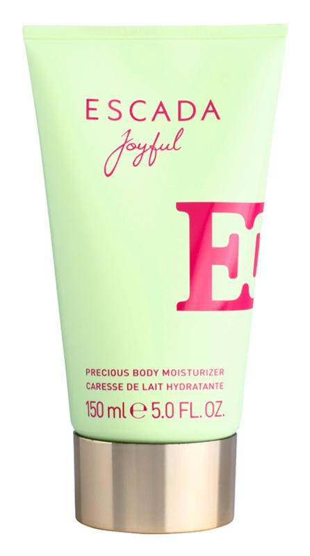 Escada Joyful testápoló tej nőknek 150 ml