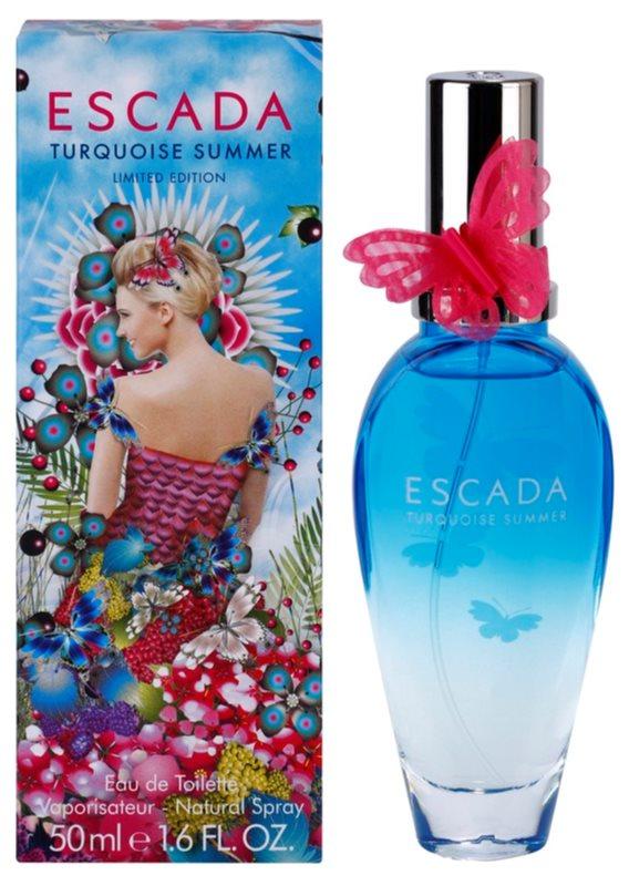 Escada Turquoise Summer toaletní voda pro ženy 50 ml