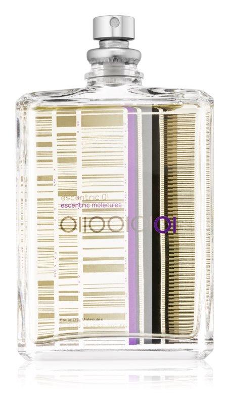 Escentric Molecules Escentric 01 eau de toilette mixte 100 ml