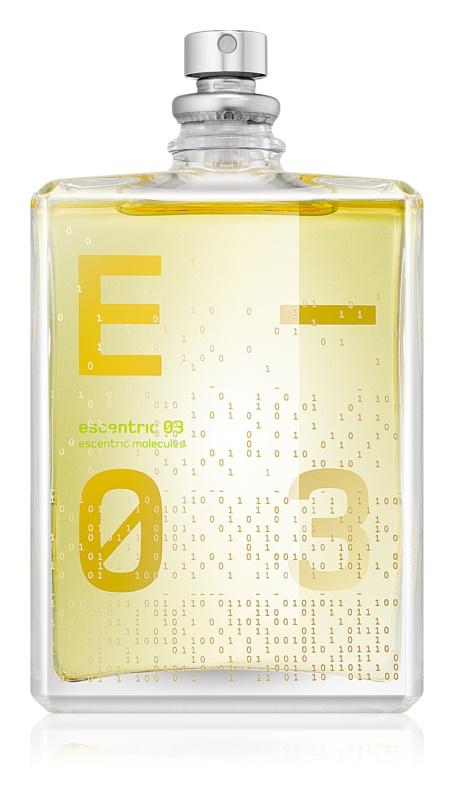 Escentric Molecules Escentric 03 Eau de Toilette unissexo 100 ml