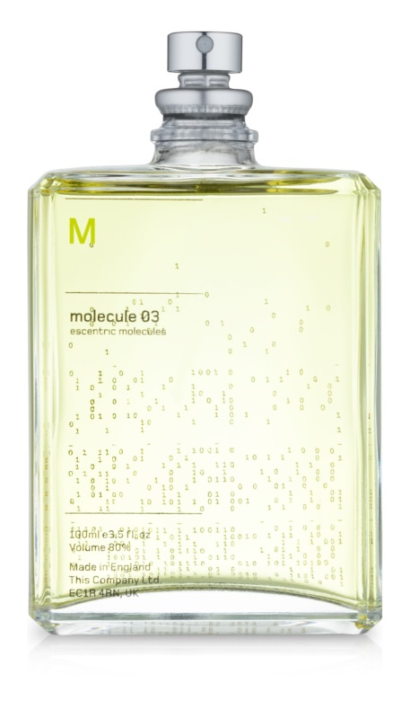 Escentric Molecules Molecule 03 toaletna voda uniseks 100 ml