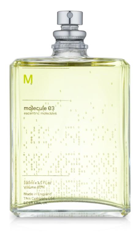 Escentric Molecules Molecule 03 toaletná voda unisex 100 ml