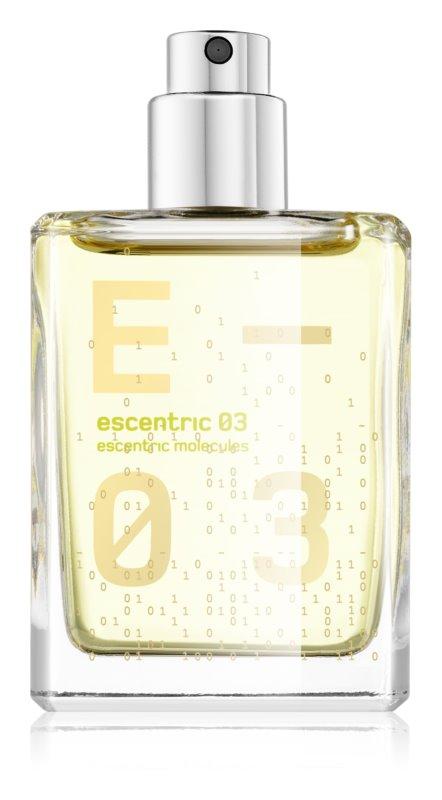 Escentric Molecules Escentric 03 Eau de Toilette unisex 30 ml Refill