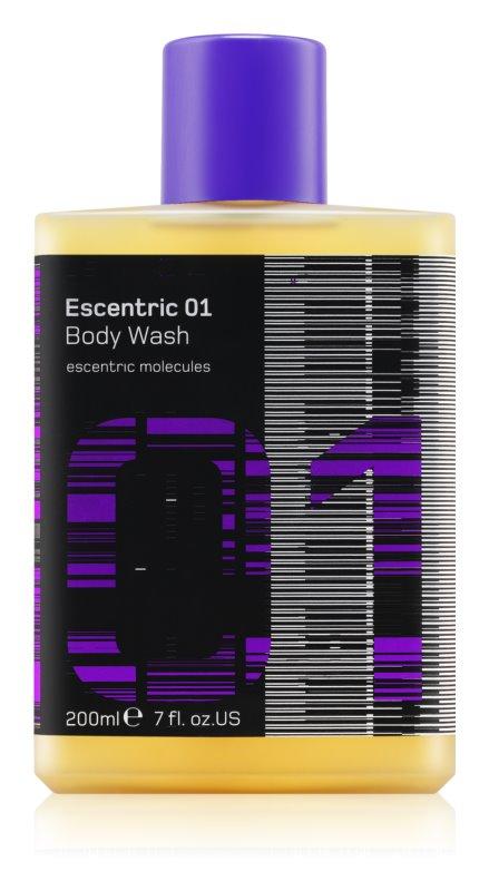 Escentric Molecules Escentric 01 gel de dus unisex 200 ml