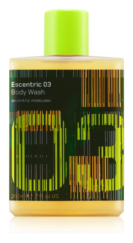 Escentric Molecules Escentric 03 Shower Gel unisex 200 ml
