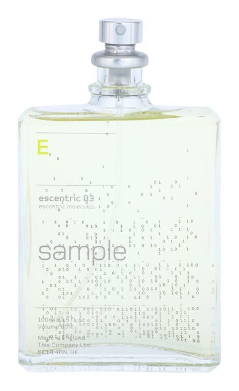Escentric Molecules Escentric 03 toaletná voda tester unisex 100 ml
